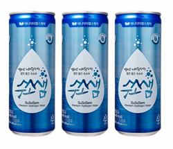 [헬스조선]애니닥터헬스케어, 수소수 캔음료 '수소샘' 출시